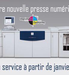Imprimerie Deshorme - Réalisations